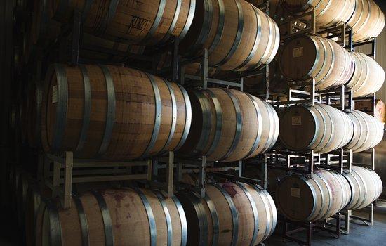 Dundee, NY: The McGregor barrel room