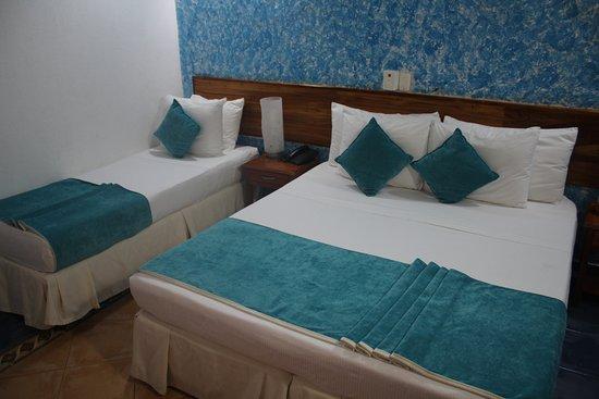 Hotel 3 Banderas: COMFORTABLE BEDS