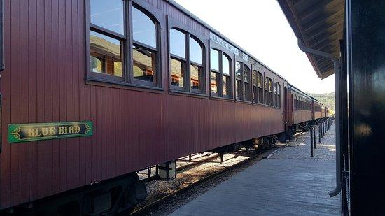 Hill City, SD: passenger cars