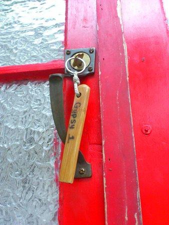 Pagoda Lodge: 鍵のかけ忘れにご注意を!!