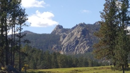 Hill City, Dakota del Sur: rocky mountains