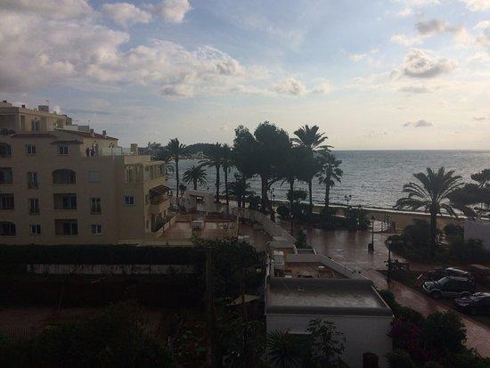 Apartamentos Ros: View from balcony