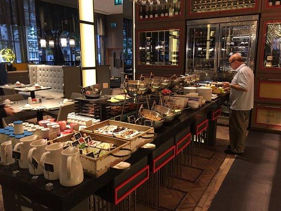 Pleasing Buffet Setup Picture Of Golden Arrow Restaurant London Interior Design Ideas Oxytryabchikinfo