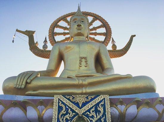 Bophut, Tailândia: Big buddha