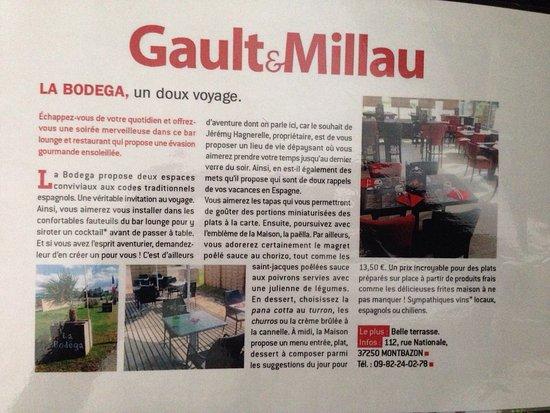 Montbazon, France : Belle récompense...