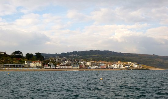 Lyme Regis, UK: Lyme from the Cobb
