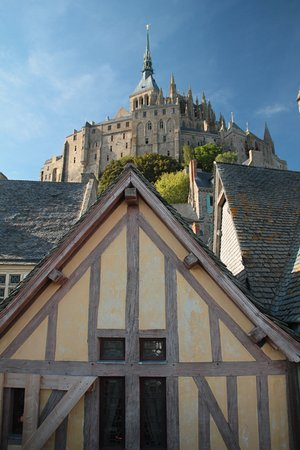 Mont Saint-Michel Abdij: l'abbazia