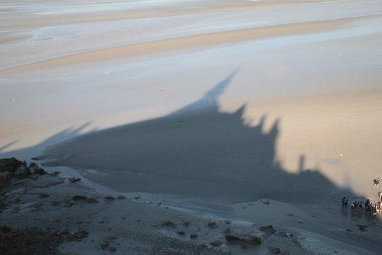 Mont Saint-Michel Abdij: ombre