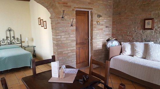 Buonconvento, Italia: Comfortable suite