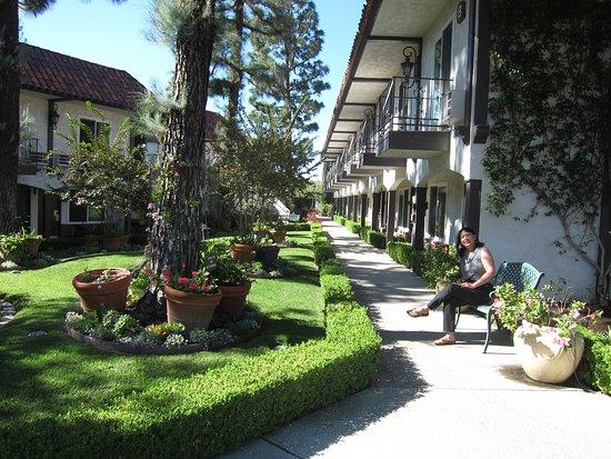 Laguna Hills, Kalifornien: Garden area