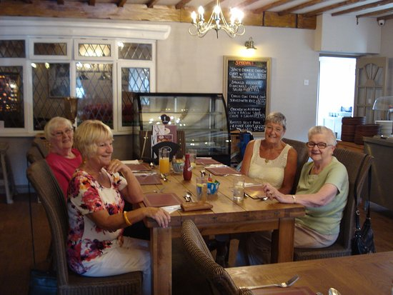 Alford, UK: Taken in Woodies at Woodthorpe Golf Club.  You don't have to play golf to enjoy a lovely meal. W