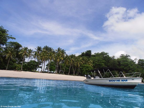 Boca Chica, ปานามา: Continue touring the islands and a new stop