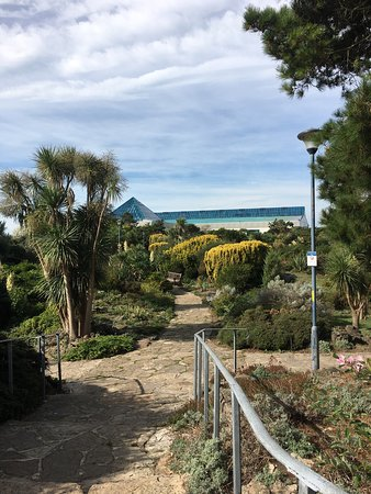 Rock Gardens Looking Back To The Pyramids Picture Of Southsea