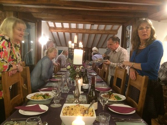 Bishops Lydeard, UK: Dining in style