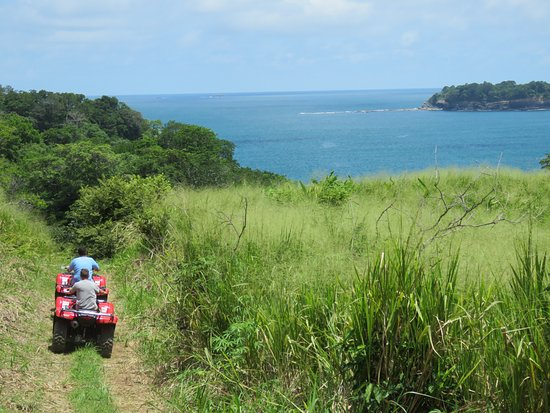 Boca Chica, Panama: And with awesome views