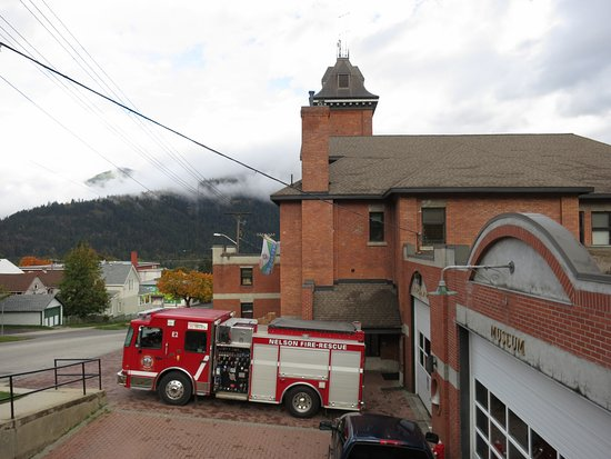Nelson, Canadá: Firehall and Museum