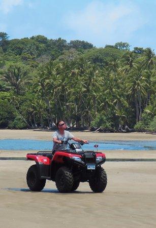 Boca Chica, Panama/Panamá: ATV tours on the tropical shore