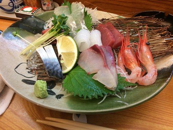 Hida, Giappone: 刺身、美味しかった。