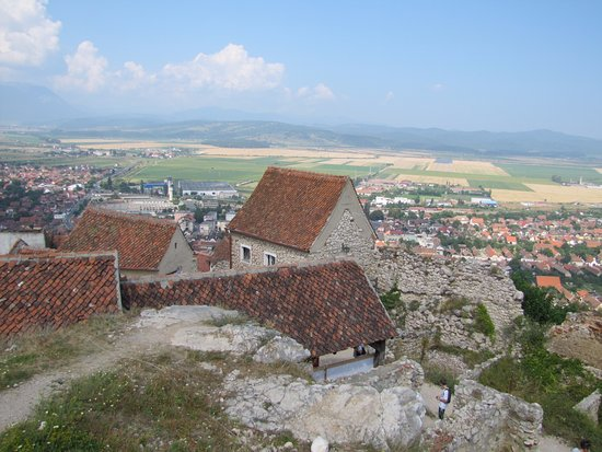 Rasnov, Romanya: view from the top
