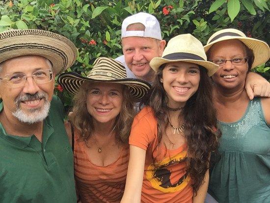 Las Cumbres, Panama: Ulrich & Argelis