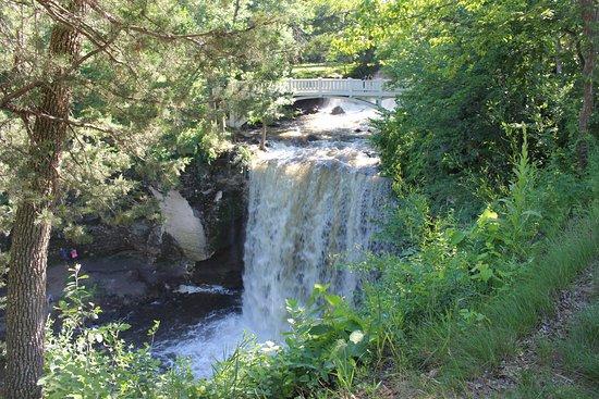 Mankato, Μινεσότα: Minneopa State Park - lower falls