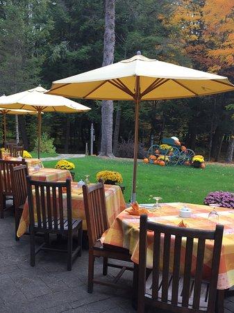Брэдфорд, Пенсильвания: Outdoor dining
