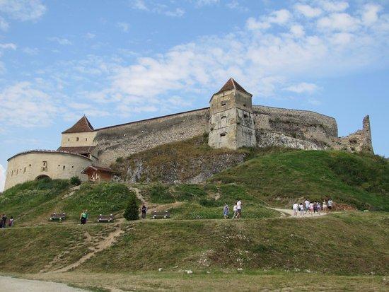 Rasnov, Romanya: The wall of the fortress