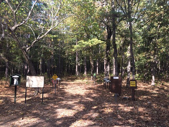 Atoka, OK: Trailhead at the McGee Creek Recreation Area