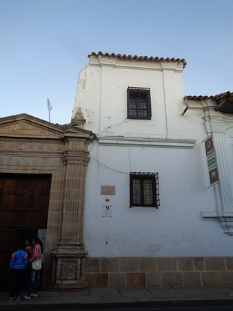 Museo Charcas (University Museum Colonial & Anthropological): Entrada al museo