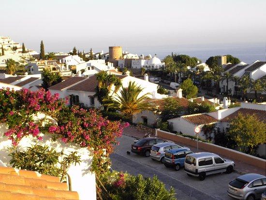 Nerja Villas Capistrano: Vue de la terrasse