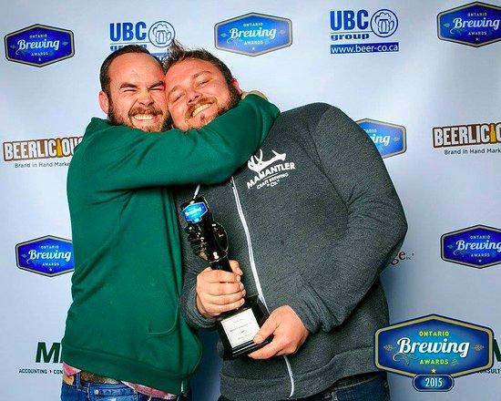 Bowmanville, Kanada: Ontario Brewing Awards 2015 - Silver for Dark Prince BIPA