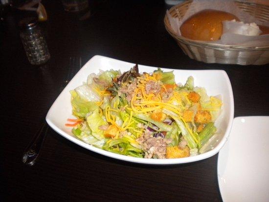อ็อกซ์ฟอร์ด, มิซซิสซิปปี้: Green salad with ginger dressing