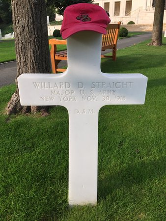 Suresnes American Cemetery and Memorial: MAJ Willard D. Straight, Cornell Class of 1901