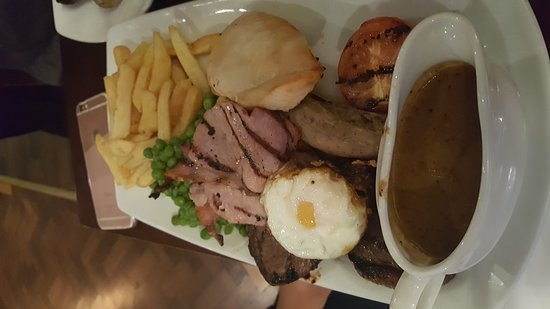 Purley, UK: Mixed grill