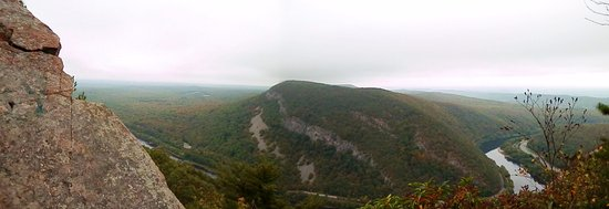 Columbia, Nueva Jersey: Del. Water Gap overlook