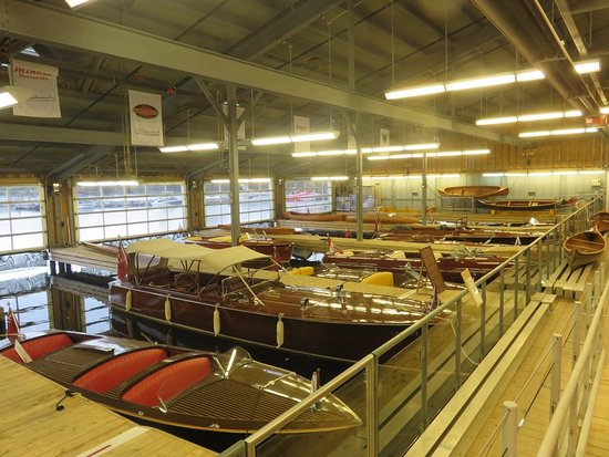 Muskoka Steamships and Discovery Centre: An overview of the boathouse