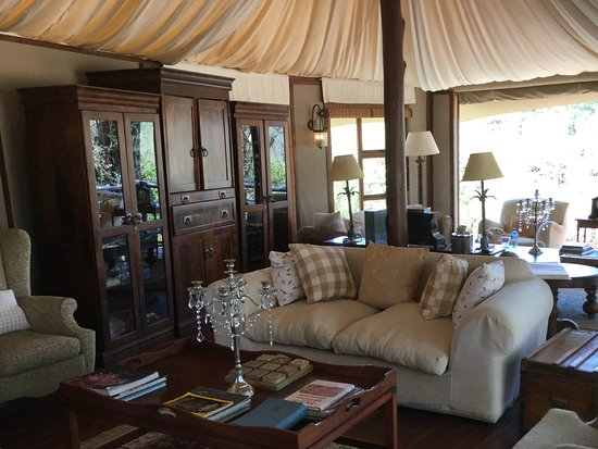 Hamiltons Tented Camp: Relaxation in style