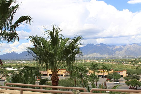 Hilton Tucson East: view from our terrace