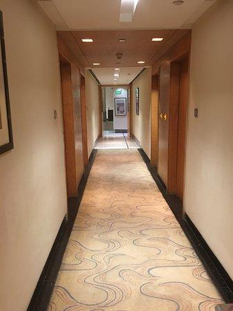 Radisson Blu Marina Connaught Place: Hallway to room- 200's