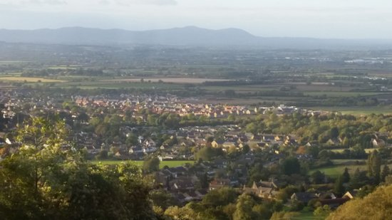 Cleeve Hill, UK: Views from our room and at breakfast
