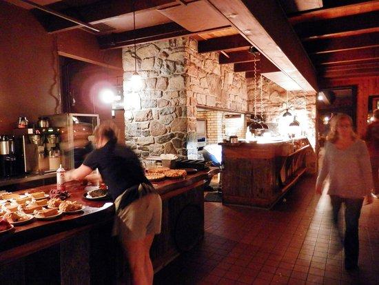 Wallpack Center, Nueva Jersey: Walpack Inn cooking