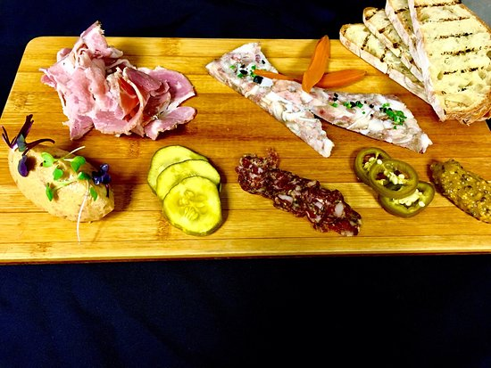 Oviedo, FL: Charcuterie plate, every item made in house