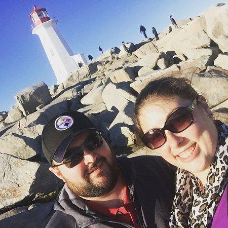 Peggy's Cove, Canadá: Lighthouse Selfie