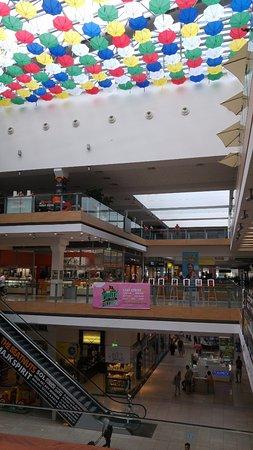 Europa SC: торговый центр внутри