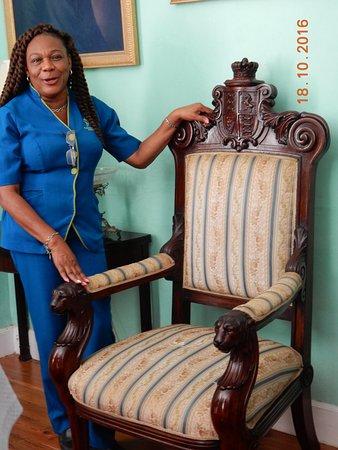 Saint Peter Parish, باربادوس: Our Guide. What a wonderful Lady.