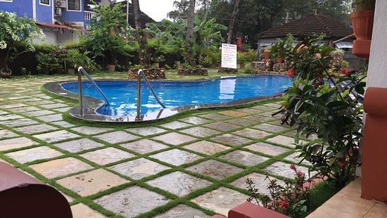 Kingstork Beach Resort: Voila...The Pool...!!!