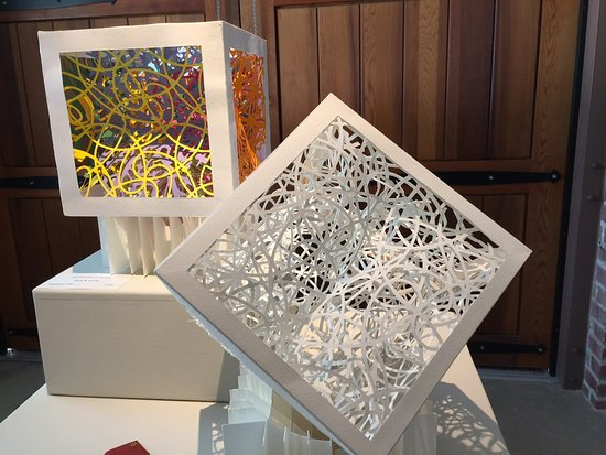 Pleasanton, CA: Three dimensional art at the Firehouse Arts Center