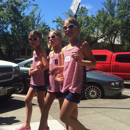 Healdsburg, Californie : Fourth of July Parade
