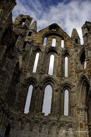 Whitby Abbey: Internal details are incredible considering the age of the building