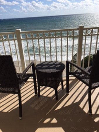 Highland Beach, FL: Ocean front room view - late afternoon